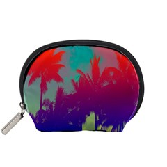 Tropical Coconut Tree Accessory Pouches (Small)