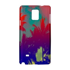 Tropical Coconut Tree Samsung Galaxy Note 4 Hardshell Case