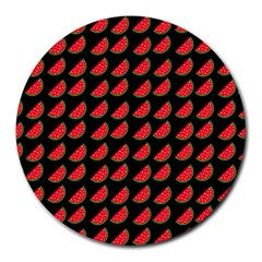 Watermelon Round Mousepads