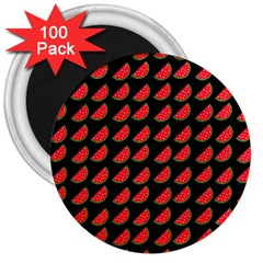 Watermelon 3  Magnets (100 pack)