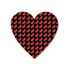 Watermelon Heart Magnet