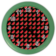 Watermelon Color Wall Clocks