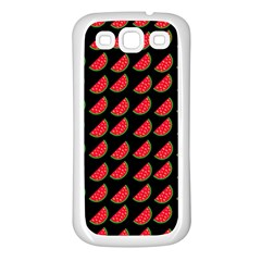 Watermelon Samsung Galaxy S3 Back Case (White)