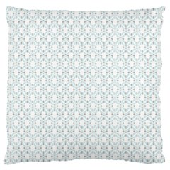 Web Grey Flower Pattern Large Cushion Case (One Side)