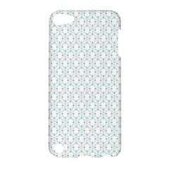 Web Grey Flower Pattern Apple iPod Touch 5 Hardshell Case