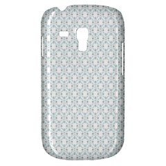 Web Grey Flower Pattern Galaxy S3 Mini
