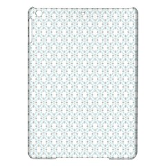 Web Grey Flower Pattern iPad Air Hardshell Cases