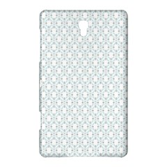 Web Grey Flower Pattern Samsung Galaxy Tab S (8.4 ) Hardshell Case