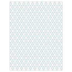 Web Grey Flower Pattern Drawstring Bag (Large)