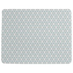 Web Grey Flower Pattern Jigsaw Puzzle Photo Stand (Rectangular)