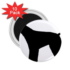 Giant Schnauzer Silo 2.25  Magnets (10 pack)