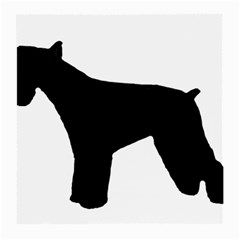 Giant Schnauzer Silo Medium Glasses Cloth (2-Side)