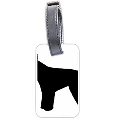 Giant Schnauzer Silo Luggage Tags (Two Sides)