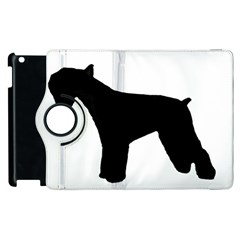 Giant Schnauzer Silo Apple iPad 3/4 Flip 360 Case