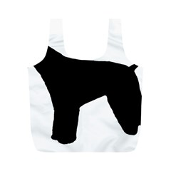 Giant Schnauzer Silo Full Print Recycle Bags (M)