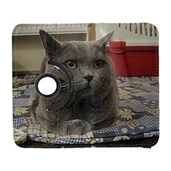 British Shorthair Grey Galaxy S3 (Flip/Folio)