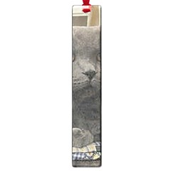 British Shorthair Grey Large Book Marks