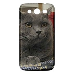 British Shorthair Grey Samsung Galaxy Mega 5.8 I9152 Hardshell Case