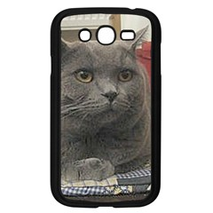 British Shorthair Grey Samsung Galaxy Grand DUOS I9082 Case (Black)