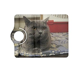 British Shorthair Grey Kindle Fire HD (2013) Flip 360 Case