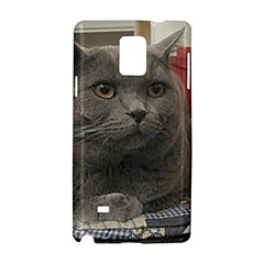 British Shorthair Grey Samsung Galaxy Note 4 Hardshell Case