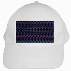 Psychedelic 70 S 1970 S Abstract White Cap