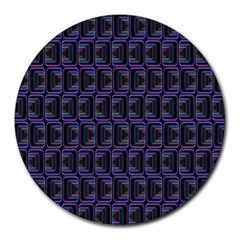 Psychedelic 70 S 1970 S Abstract Round Mousepads