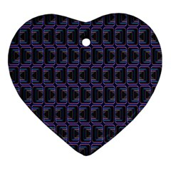 Psychedelic 70 S 1970 S Abstract Ornament (Heart)