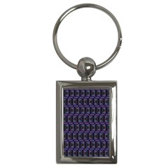 Psychedelic 70 S 1970 S Abstract Key Chains (Rectangle)