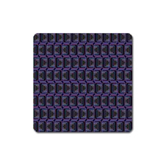 Psychedelic 70 S 1970 S Abstract Square Magnet