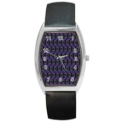 Psychedelic 70 S 1970 S Abstract Barrel Style Metal Watch