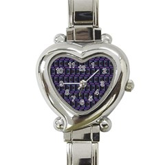 Psychedelic 70 S 1970 S Abstract Heart Italian Charm Watch