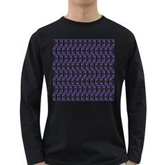 Psychedelic 70 S 1970 S Abstract Long Sleeve Dark T-Shirts