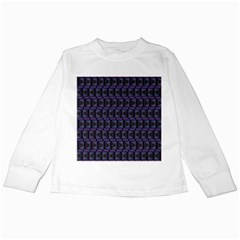 Psychedelic 70 S 1970 S Abstract Kids Long Sleeve T-Shirts