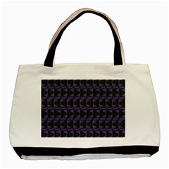 Psychedelic 70 S 1970 S Abstract Basic Tote Bag (Two Sides)