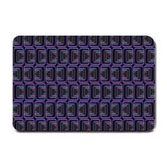 Psychedelic 70 S 1970 S Abstract Small Doormat