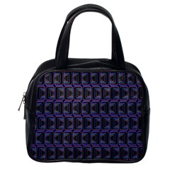 Psychedelic 70 S 1970 S Abstract Classic Handbags (One Side)