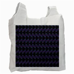 Psychedelic 70 S 1970 S Abstract Recycle Bag (One Side)