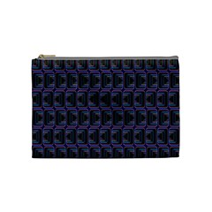 Psychedelic 70 S 1970 S Abstract Cosmetic Bag (Medium)