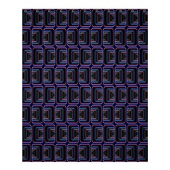 Psychedelic 70 S 1970 S Abstract Shower Curtain 60  x 72  (Medium)