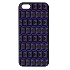 Psychedelic 70 S 1970 S Abstract Apple iPhone 5 Seamless Case (Black)