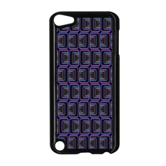 Psychedelic 70 S 1970 S Abstract Apple iPod Touch 5 Case (Black)
