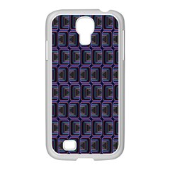 Psychedelic 70 S 1970 S Abstract Samsung GALAXY S4 I9500/ I9505 Case (White)