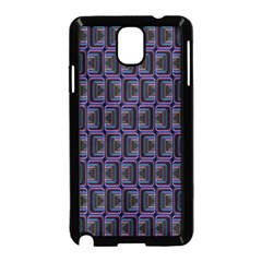 Psychedelic 70 S 1970 S Abstract Samsung Galaxy Note 3 Neo Hardshell Case (Black)