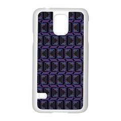 Psychedelic 70 S 1970 S Abstract Samsung Galaxy S5 Case (White)