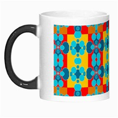 Pop Art Abstract Design Pattern Morph Mugs
