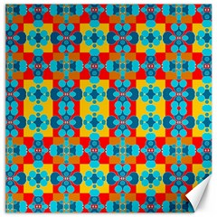 Pop Art Abstract Design Pattern Canvas 12  x 12