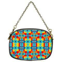 Pop Art Abstract Design Pattern Chain Purses (One Side)