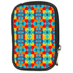 Pop Art Abstract Design Pattern Compact Camera Cases