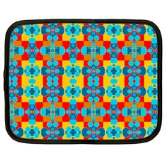 Pop Art Abstract Design Pattern Netbook Case (XL)